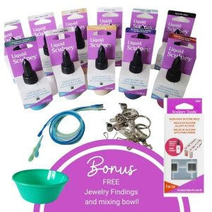 Liquid Sculpey Bundle with FREE gifts