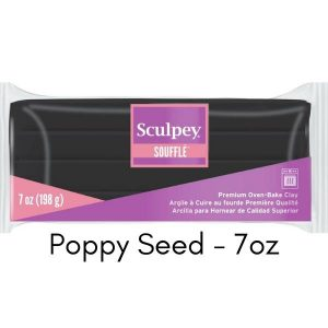 Sculpey Souffle Poppy Seed Large 7 oz size