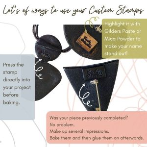 Different ways to use your Custom Name Stamps CNS