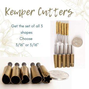 Kemper Cutter Set