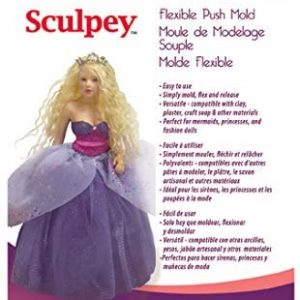 Sculpey Mold Woman Doll