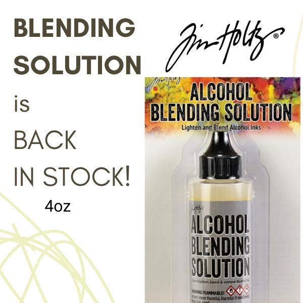 Blending Solution Back in stock