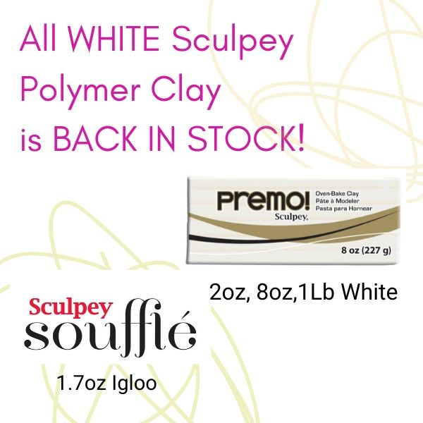 White Premo and Souffle are back in stock