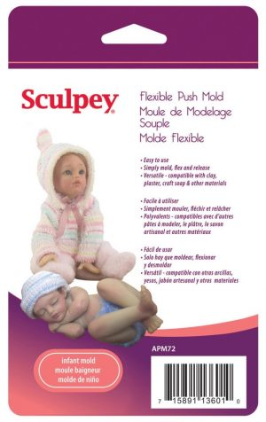 Sculpey Infant Doll Mold