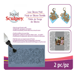 Sculpey Silicone Mold LACE