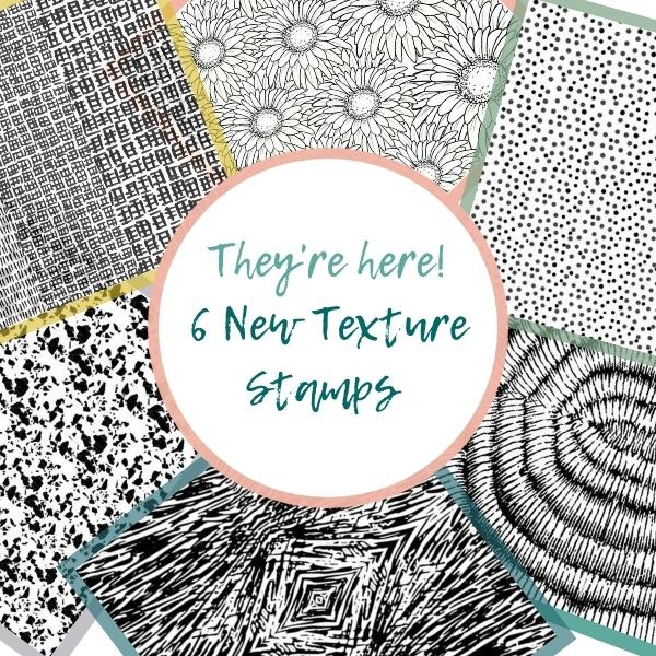 6 New Textures Stamps Have Arrived