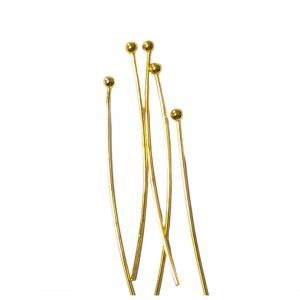 Ball Pins Gold Tone