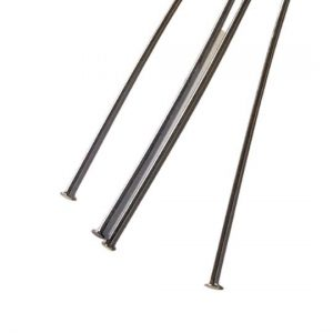 MWFD-A0592 Head Pins 2.5 long Silver Tone