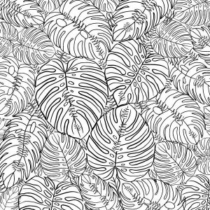 Monstera Love Texture Sheet WOTX-027