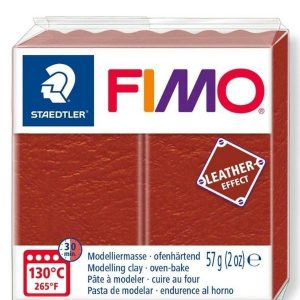 Rust Fimo Leather Effect