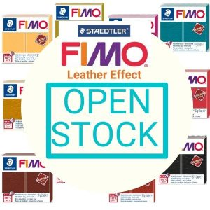 FIMO Leather Effect Open Stock
