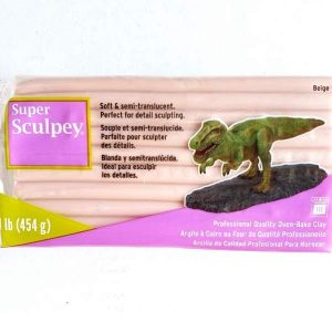 Super Sculpey 1 LB Beige