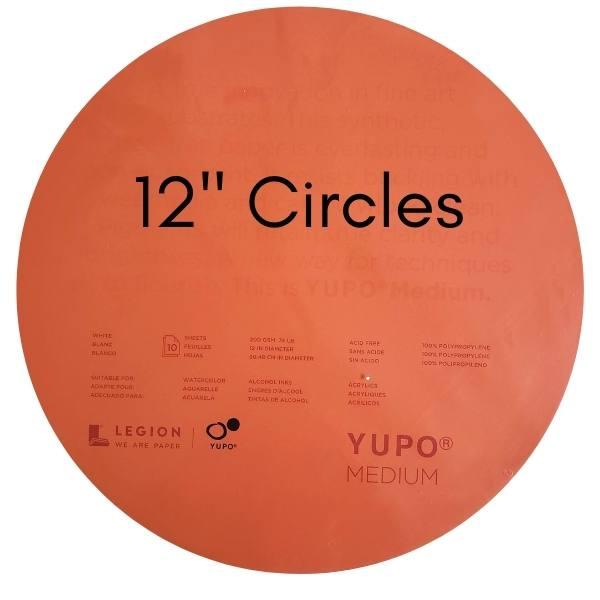 """Yupo 12"""" Circles"""