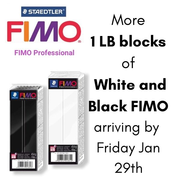 FIMO Polymer Clay 1LB restock