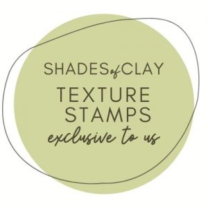 Shades of Clay Texture Stamps