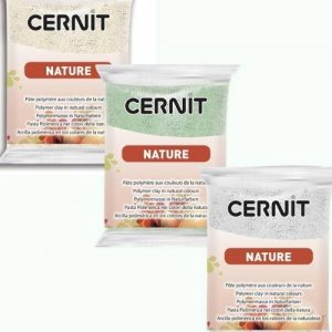 Cernit Nature Set of 3 Colours