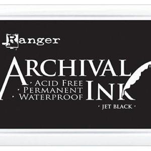 Ranger Archival Ink Pad Jet BlackRGR-A3P06701