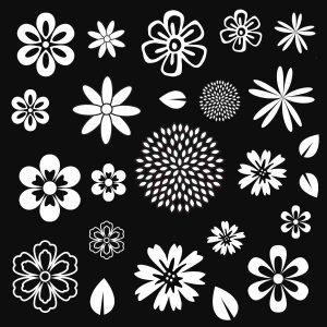 Flora Texture Stamp WOTX-2101