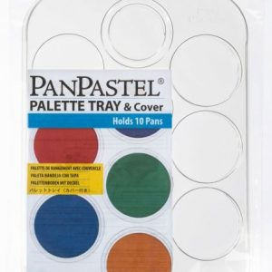 Empty Palette tray with lid for 10 PanPastels