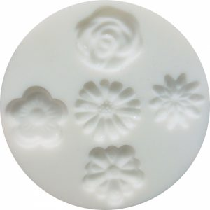 Cernit Silicone Molds Flowers