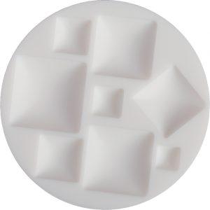 Cernit silicone mold square cabochons