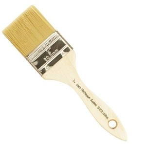 2 inch Gesso Brush with wooden handle