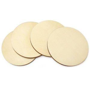 Round Coasters 4 pack